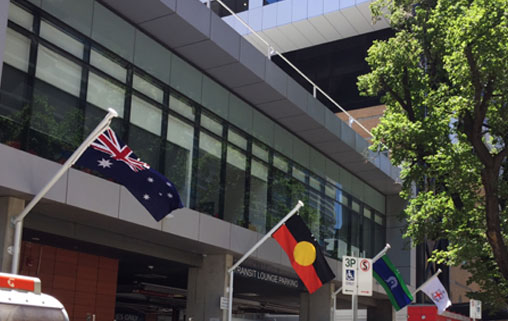 Hospital acknowledges Australian identity