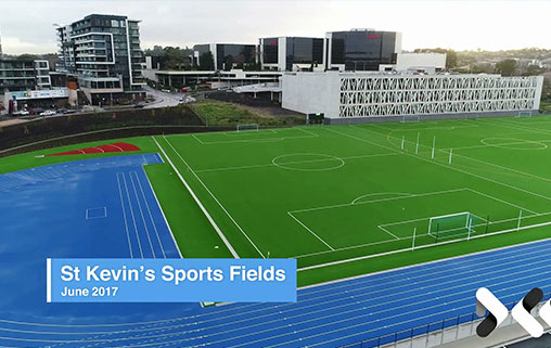 St Kevin's builds new Synthetic Sports Field