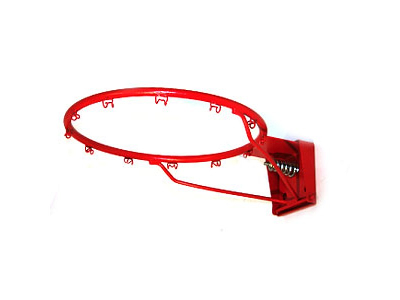 Single Spring Loaded Basketball Ring