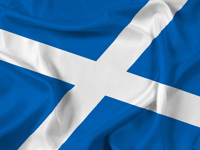 St Andrew's Cross Flag (Scotland)