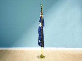 Telescopic Aluminium Flag Pole