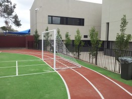 Hinged Net Bases (Junior Soccer Goals)