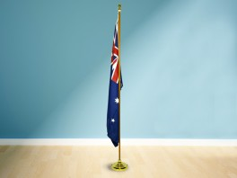 Timber Look Flag Pole - 1.8m