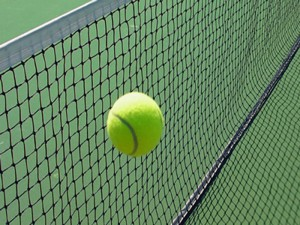 P1B Tennis Tournament Black Net